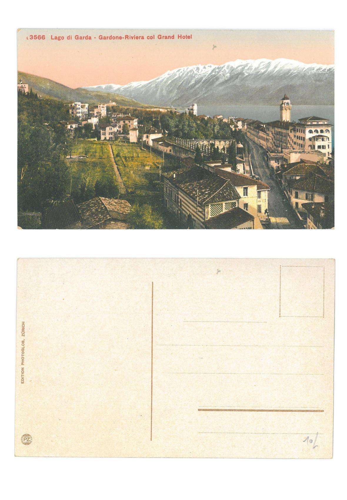 Gardone-Riviera con il Grand Hotel