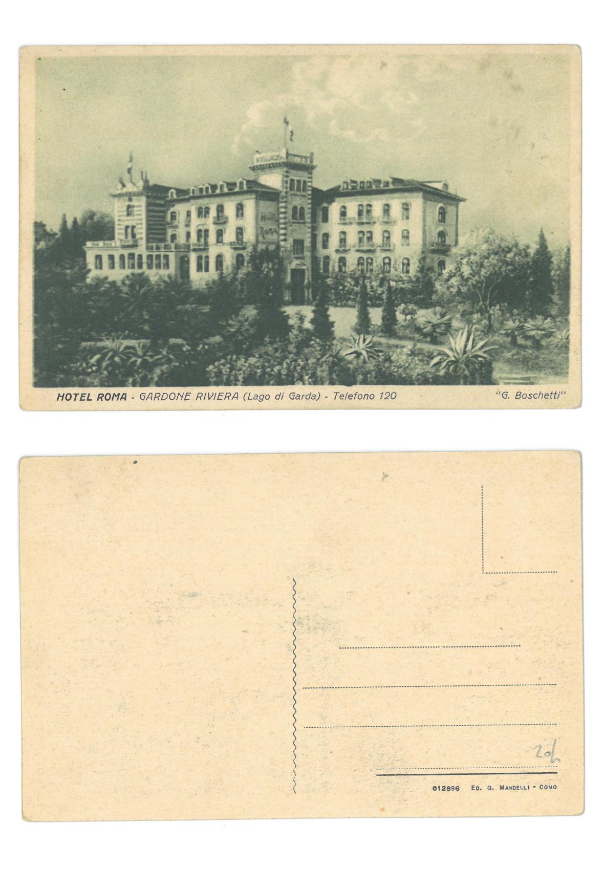 Hotel Roma - Gardone Riviera