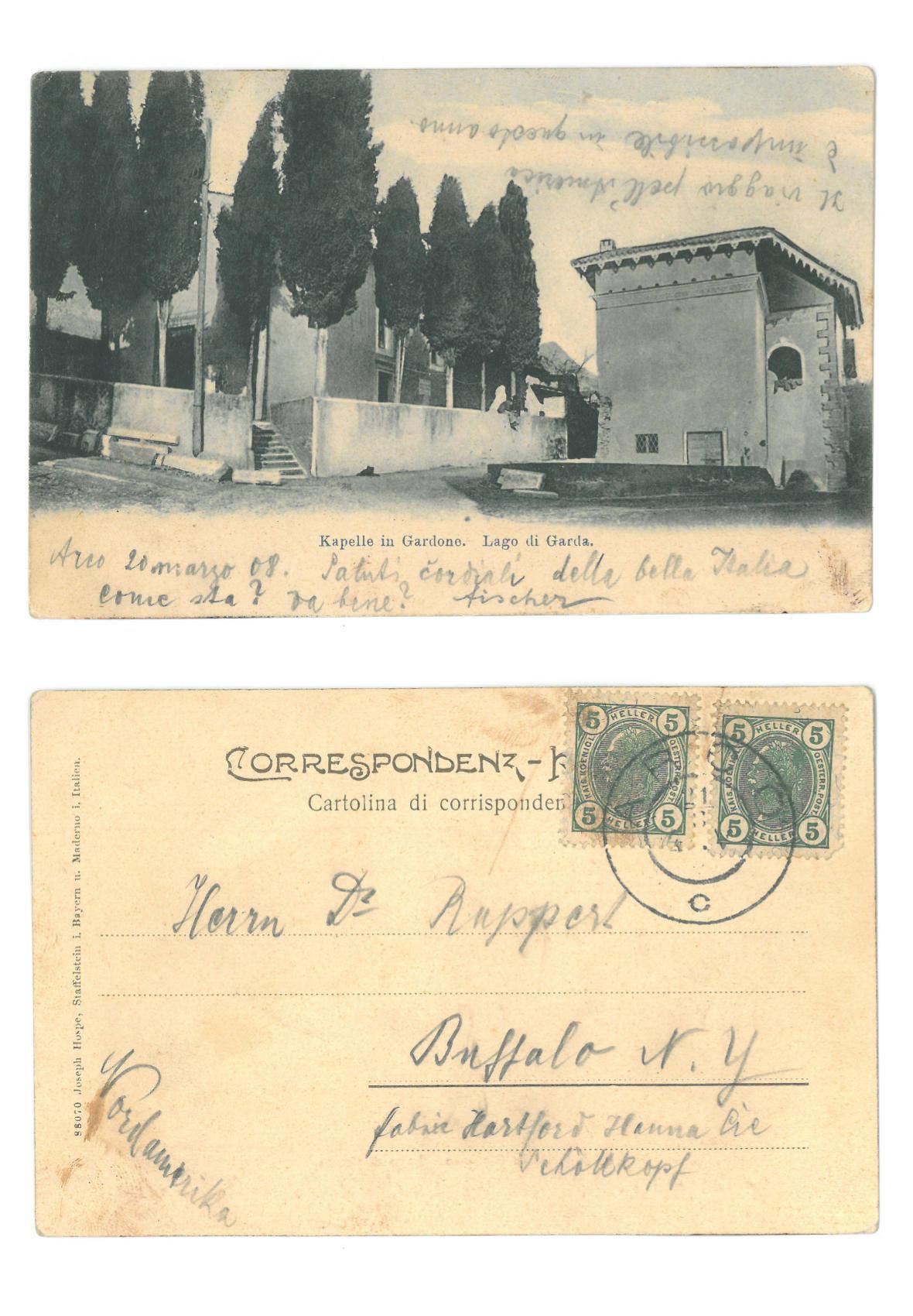 Kappelle in Gardone