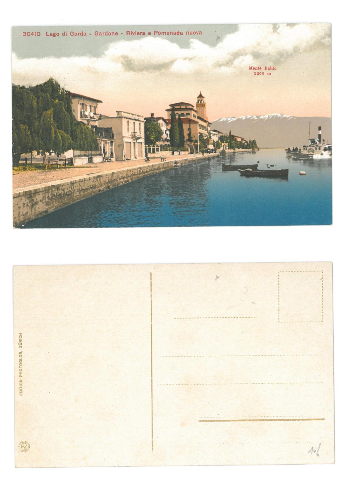 Gardone - Riviera e Promenada Nuova