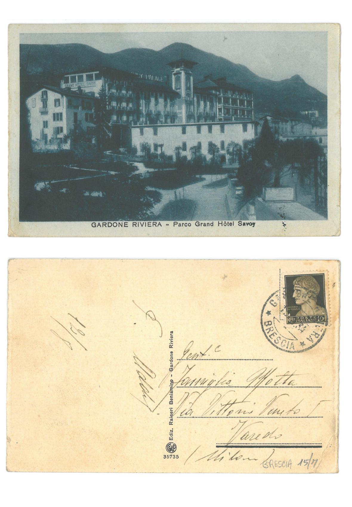 Gardone Riviera - Parco Grand Hotel Savoy