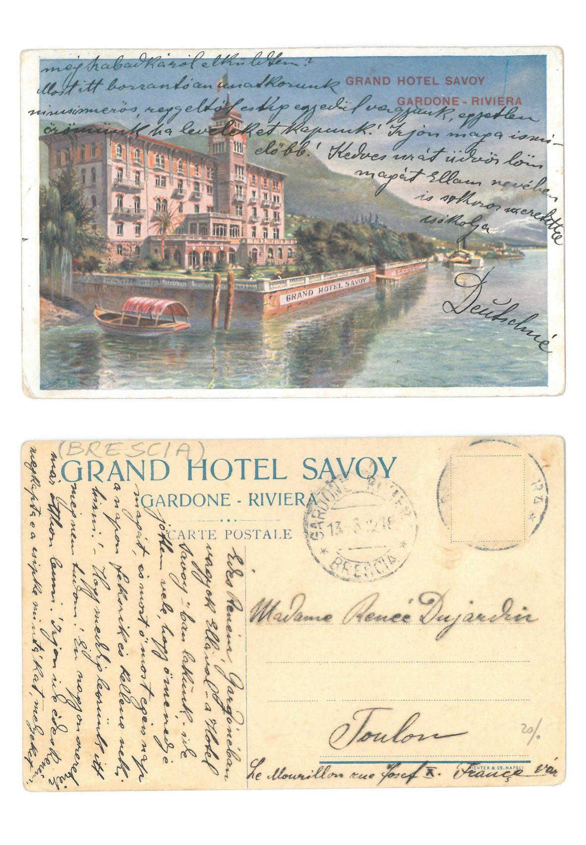 Grand Hotel Savoy Gardone Riviera