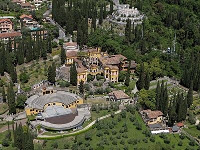 Il Vittoriale degli Italiani visto dall'alto